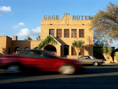 The 45-room Gage Hotel in the West Texas town of Marathon was one of the states best-performing hotels while big city luxury properties languished.