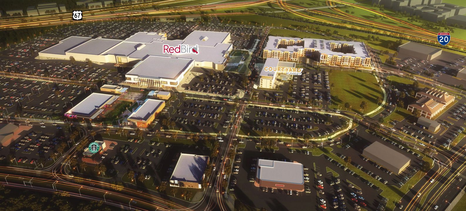 The 44-year-old RedBird Mall is being turned into a mixed-use project.