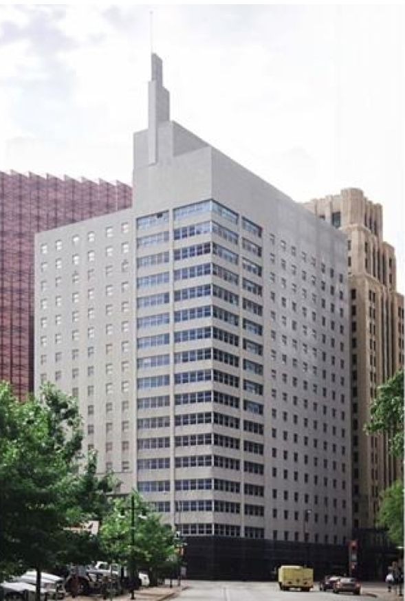 Corrigan Tower has been vacant for a decade.