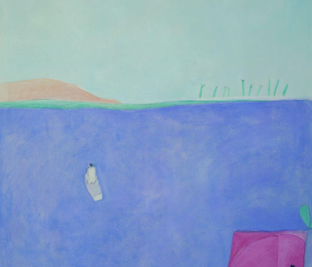 """Joy Laville,"""" """"""""Man Leaving in a Boat"""""""