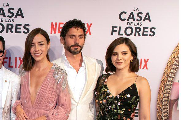 """Sherly Rubio interpretó a  Lucía Dávila en la serie de Netflix """"La Casa de las Flores"""". AGENCIA REFORMA"""