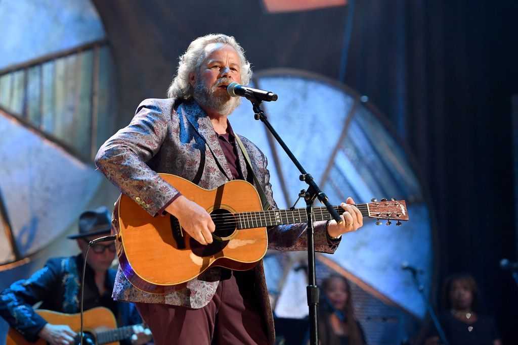 Robert Earl Keen performs onstage during the 2018 Americana Music Honors and Awards at Ryman Auditorium on Sept. 12, 2018, in Nashville.