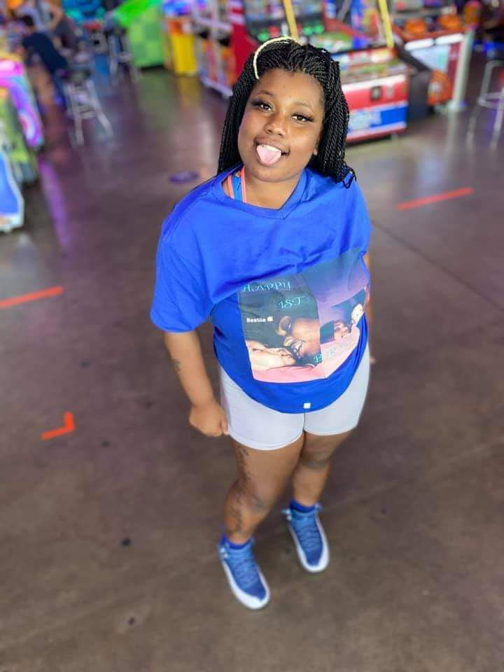 A photo of Nakeya Smith shared by her family.