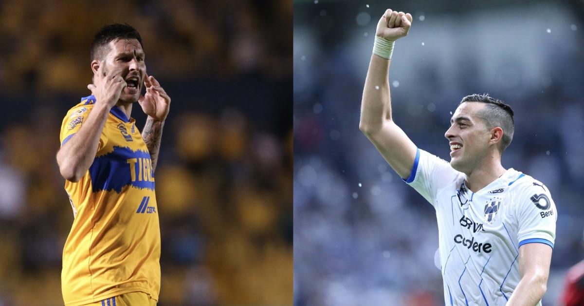 El duelo entre los goleadores de Tigres y Monterrey, André-Pierre Gignac (izq) y Rogelio Funes Mori será un atractivo más en el Clásico Regio.