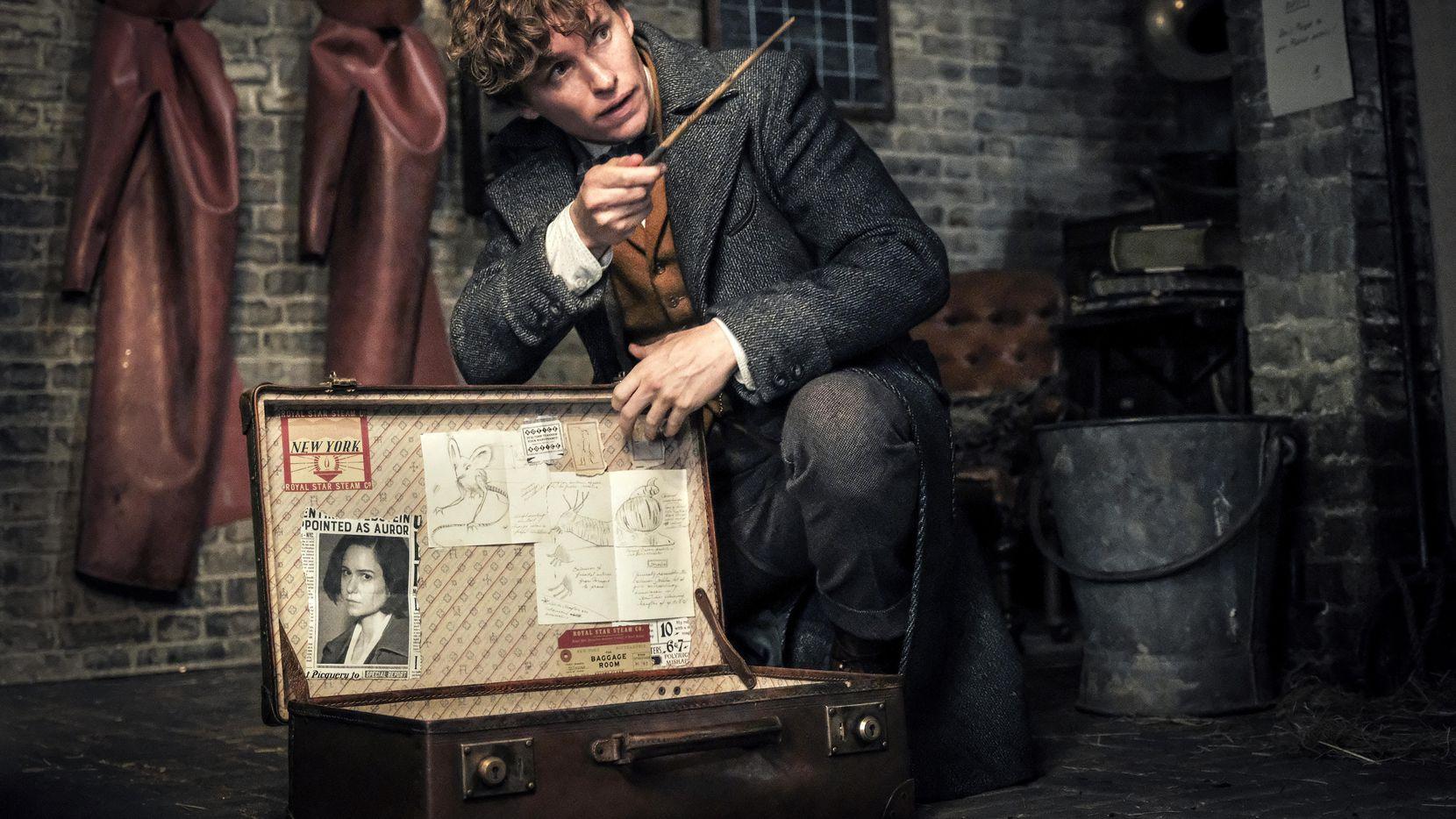 "Eddie Redmayne en una escena de ""Fantastic Beasts: The Crimes of Grindelwald"".(Warner Bros.)"
