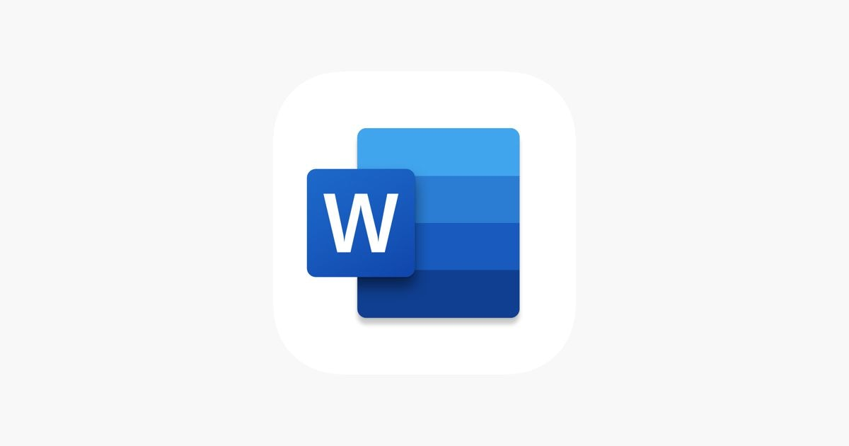 App icon for Microsoft Word