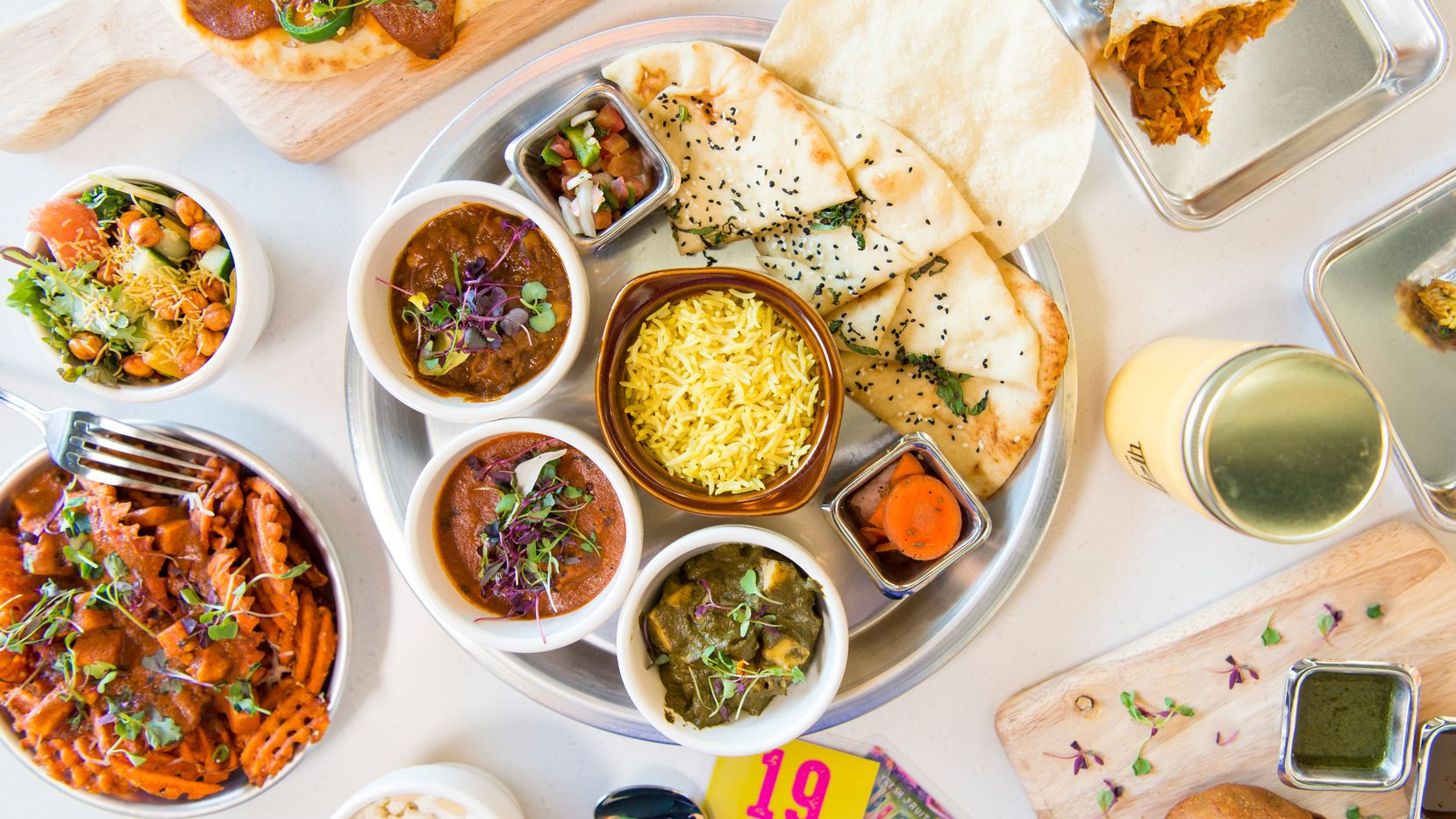 Curry Up Now is a fast-casual Indian restaurant that is expected to expand to Dallas, Fort Worth and Austin in 2021.