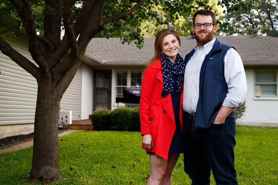 Kylie Kagen and her fiance, Mike Cammon, had to buy flood insurance for their new home.