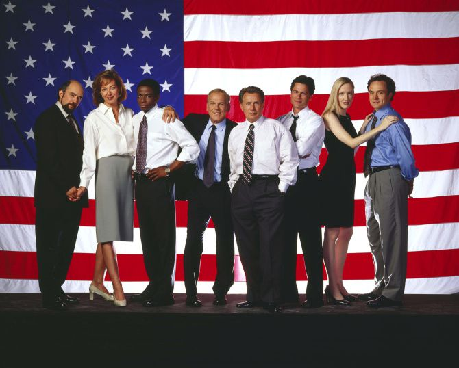 """Even now, we are debating many of the same basic issues the characters wrestled with on """"The West Wing."""""""