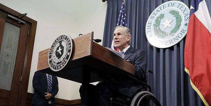 Texas Gov. Greg Abbott announces a special session of the Legislature on June 6 in Austin.