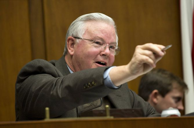 Rep. Joe Barton, R-Arlington, a former chairman of the House Energy and Commerce Committee, endorsed state Rep. Jake Ellzey for the congressional seat that he once held.