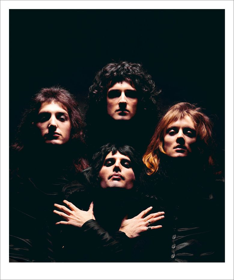 Queen II album cover, London, 1974.