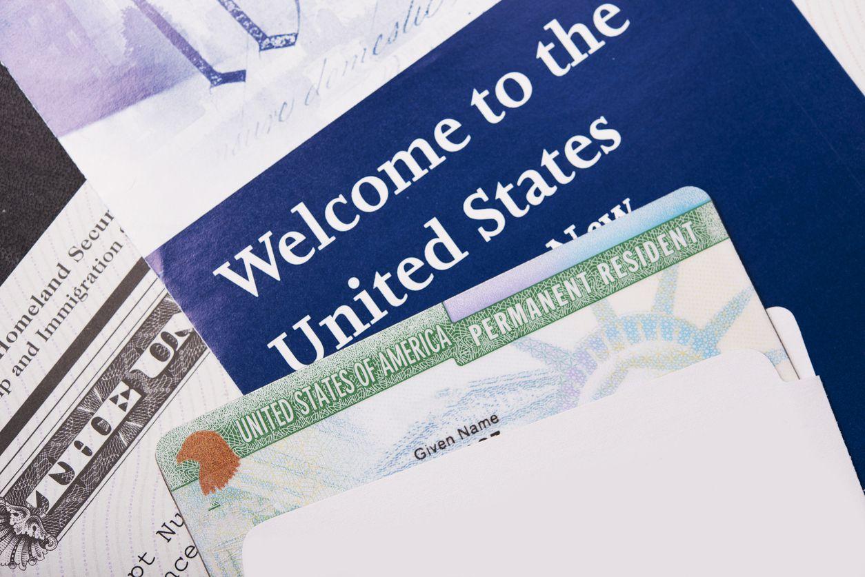 Visa de la residencia permanente.
