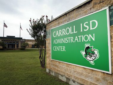The Carroll ISD Administration Center in Southlake, Texas, Tuesday, June 23, 2020.