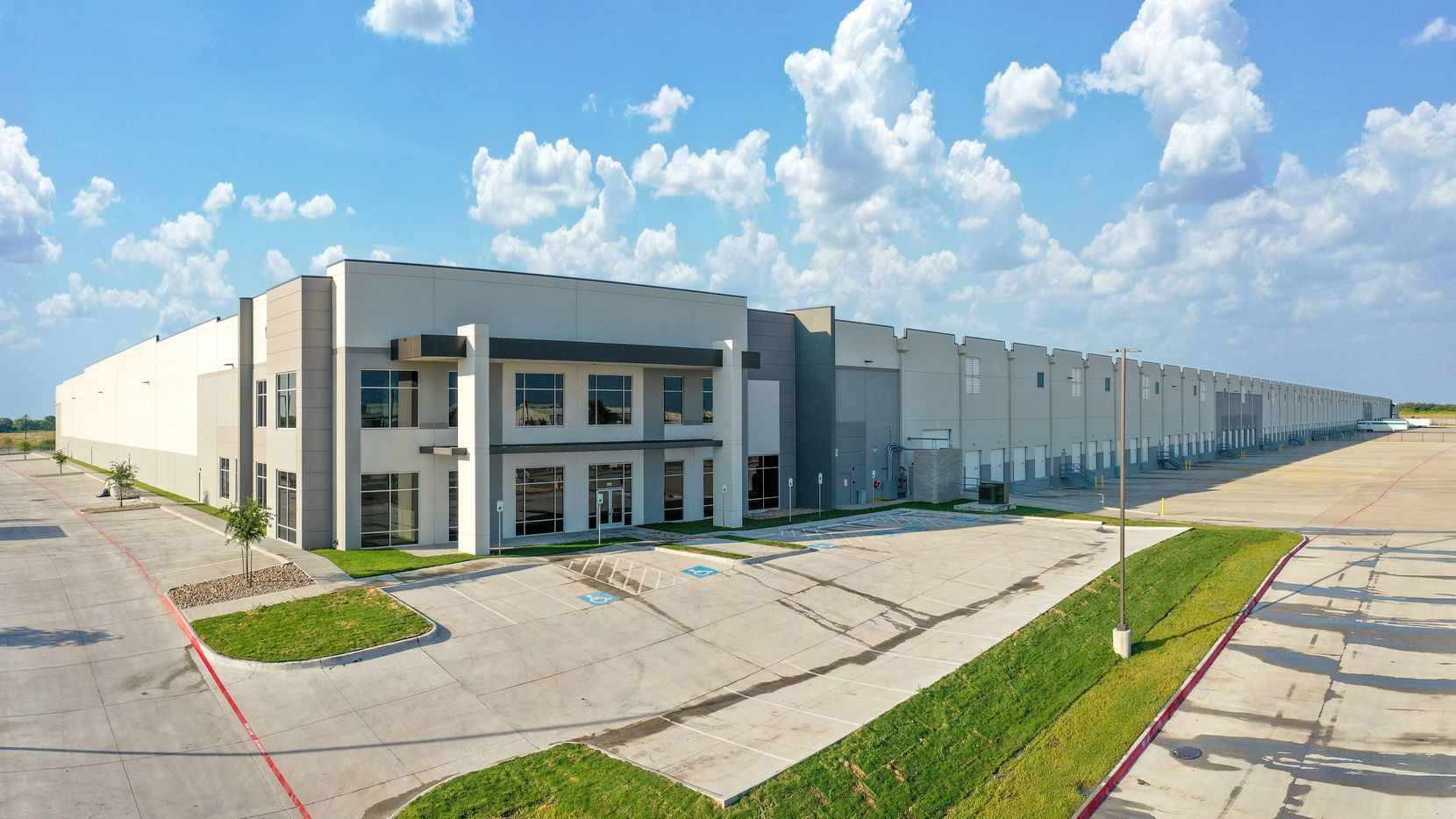 SiteOne's new distribution center is on Wintergreen Road near I-45.