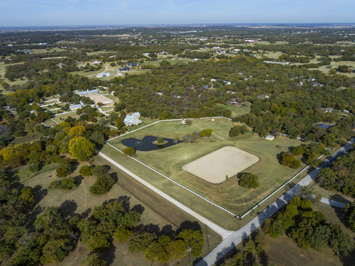 Take a look at the property at 1310 Gibbons Road in Bartonville, TX.