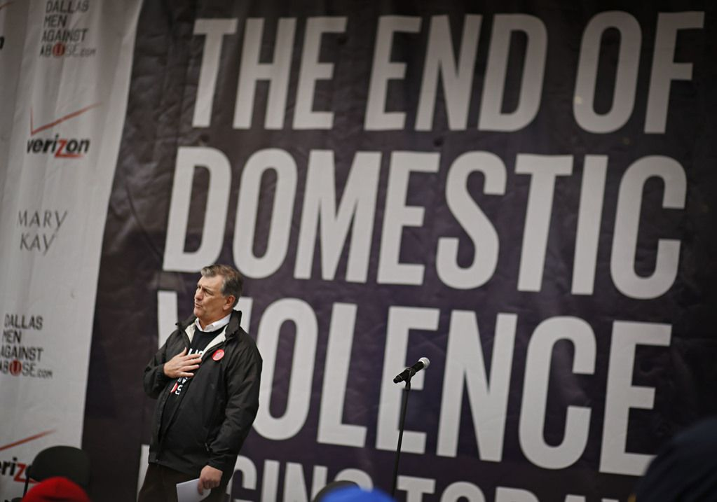 Under Dallas Mayor Mike Rawlings' leadership, the city has looked for a variety of strategies to address domestic violence.