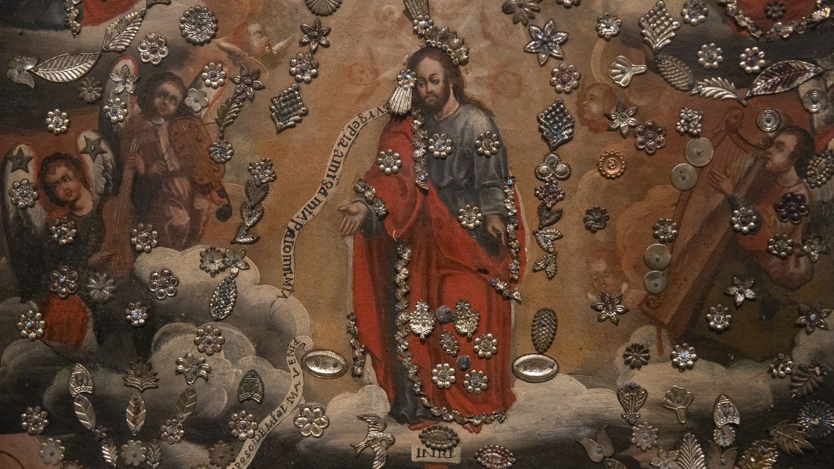 """""""The Ascension of Christ"""" is on display as part of the new exhibition """"Devoted: Art and Spirituality in Mexico and New Mexico"""" at the Dallas Museum of Art."""