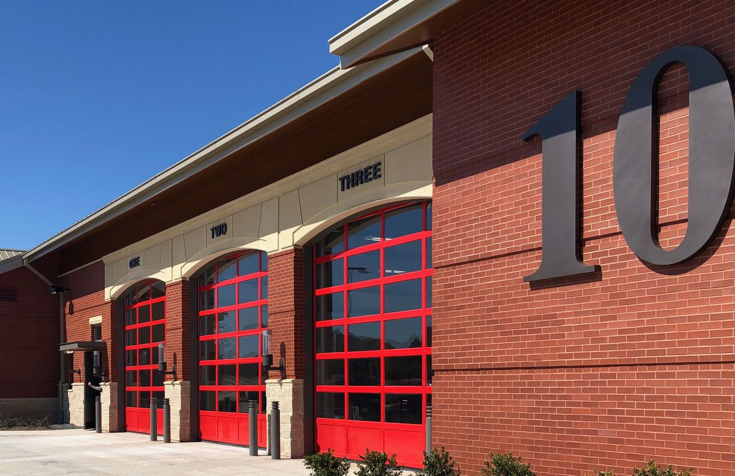 The McKinney Fire Department's Fire Station 10 opened Thursday, April 2, 2020. The new station at 1150 Olympic Crossing will serve the Trinity Falls area.