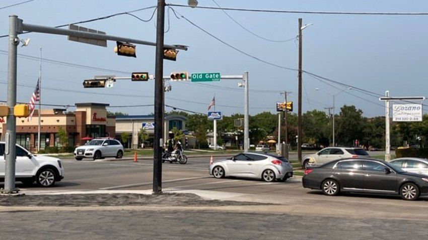 A motorcyclist was in critical condition after a collision during a funeral procession Saturday.