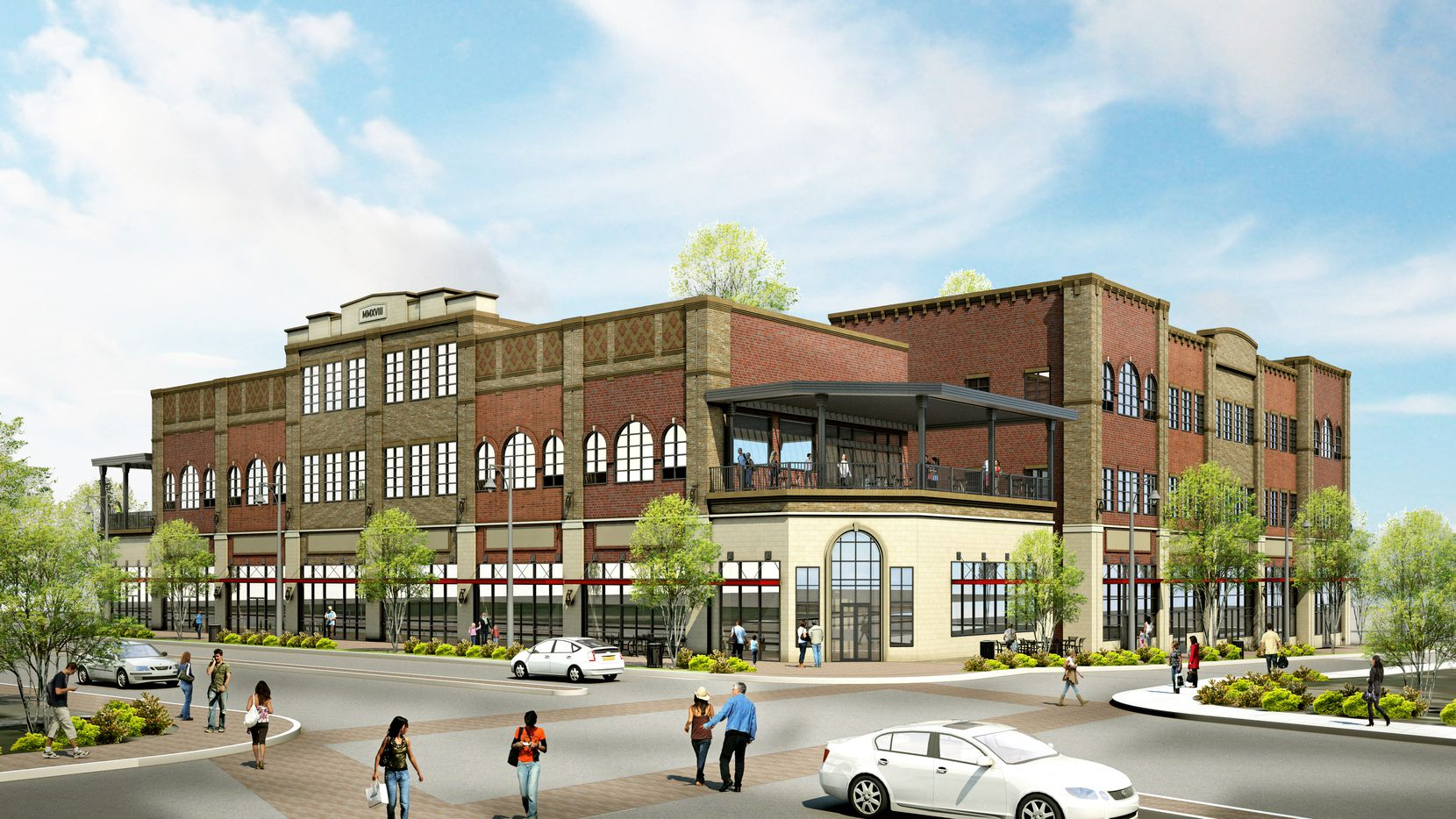 Nack Development's planned Patios project in downtown Frisco will have office, retail and restaurant space.