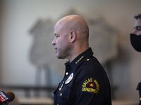 Dallas Police Chief Eddie García's violent crime plan depends on short-, medium- and long-term strategies. It will focus on hot spot policing, interrupting and disrupting violent people and places, and making improvements to the community.