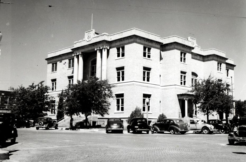 The Collin County Courthouse in McKinney (undated file photo)