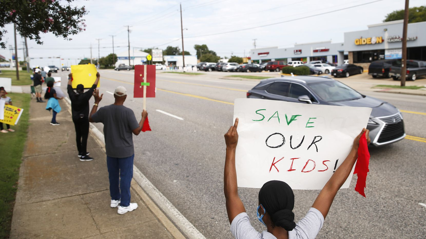 This summer parents and community members protested outside the DeSoto ISD administration building when Superintendent D'Andre Weaver suddenly resigned. But a few days later, Weaver rescinded that decision and the state stepped in and appointed an conservator to help right the district.