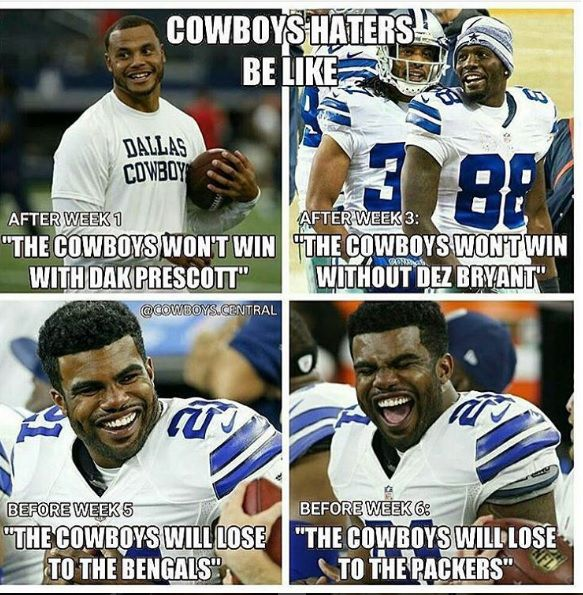 The 20 Funniest Memes Of Cowboys' Win Over Packers