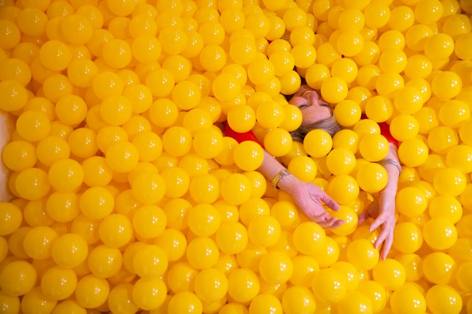Snap151 has a yellow ball pit — great for Instagram.