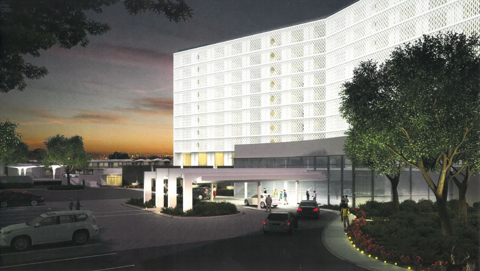 Centurion American Development Group is restoring the Cabana Hotel just west of downtown Dallas.