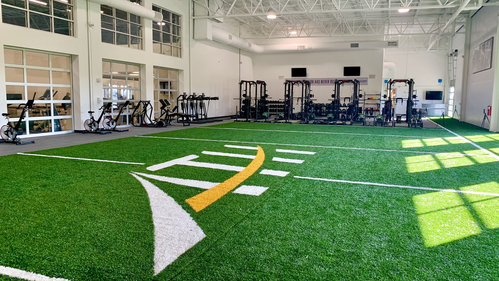 The new sports medicine and performance complex at Texas Health Allen opened on Feb. 10.