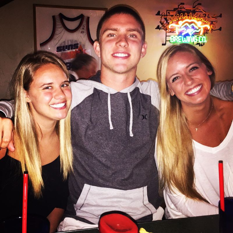 L-R: Sister Jordan Buechele, Shane Buechele, sister Amber Buechele
