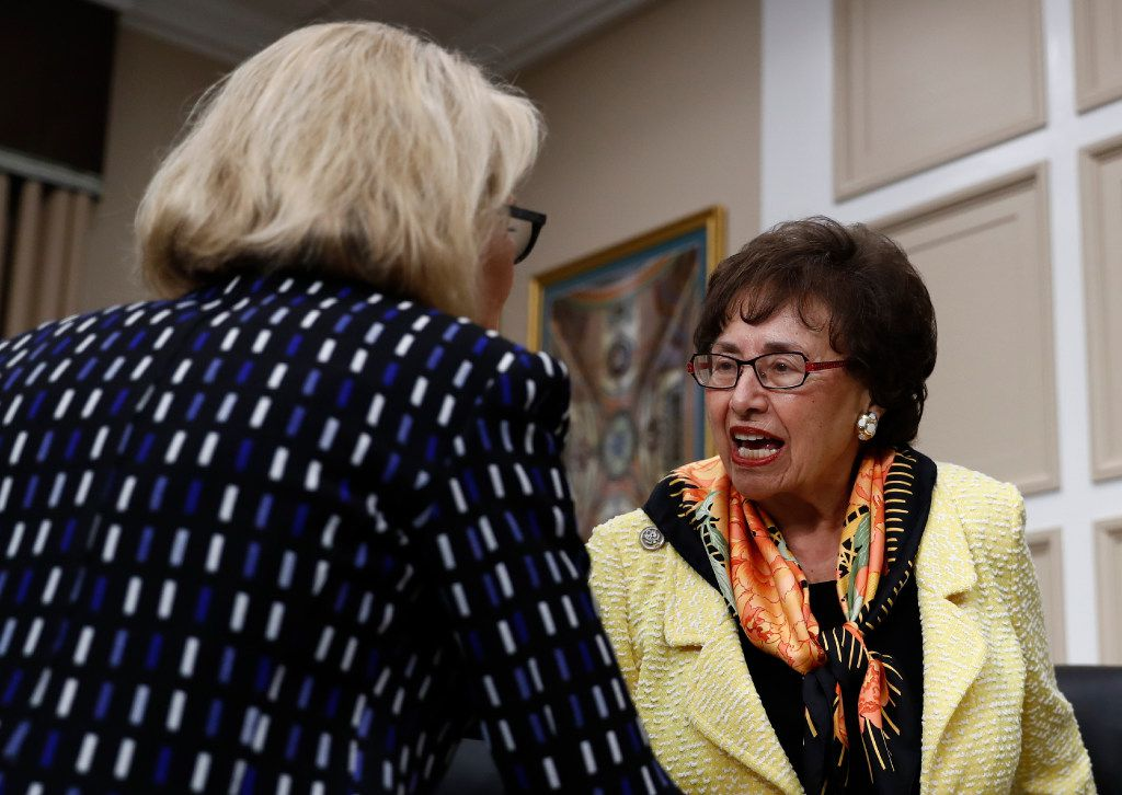 Rep. Nita Lowey, D-N.Y., reminded Perry that he once famously proposed to eliminate the federal agency that he now runs.