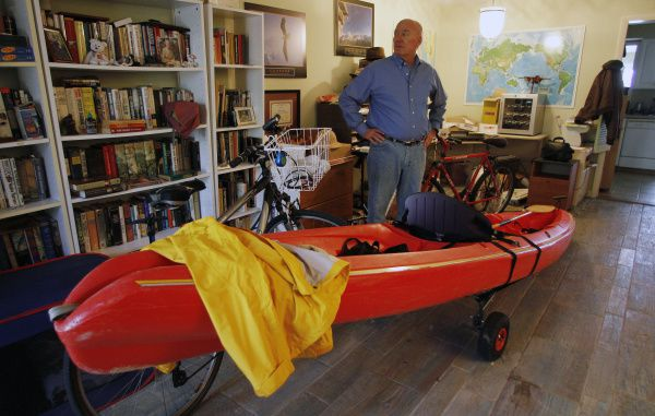 Mike Vanatta stands in his Vero Beach, Fla. living room, with his toys, talking about his life. Vanatta, 61, is paying the price for being a baby boomer who enjoyed life without saving for the future. He put a daughter through college, but he also spent plenty of money on indulgences like dining out and the latest electronic gadgets. Vanatta was laid off last January from his $100,000-a-year job as a sales executive for a turf company. And with savings of just $5,000, he's on a budget for the first time.