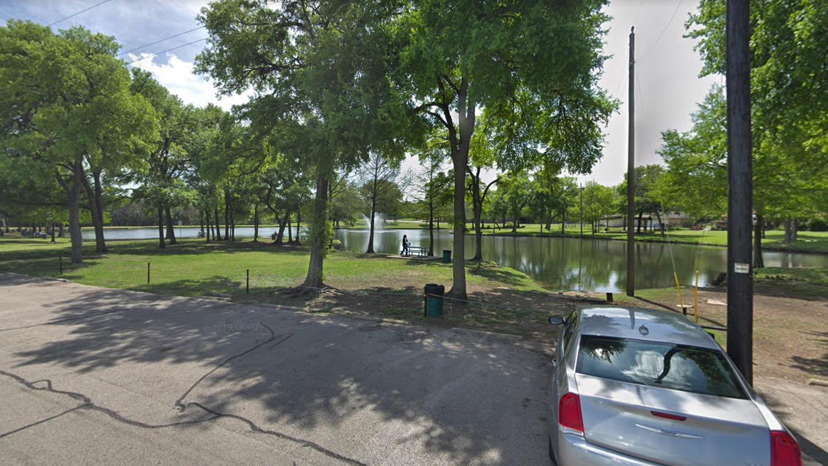 Authorities were called to Lakeside Park on Tuesday afternoon.