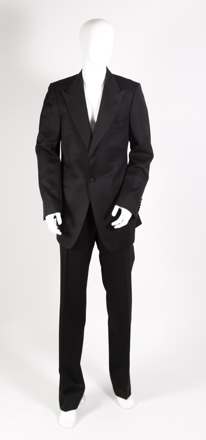 Late chef Anthony Bourdain wore this Tom Ford tuxedo to the Emmys a few years before he died. It's on display on a mannequin in Texas.