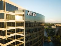 The Plano headquarters of digital banking technology firm Alkami Technology.