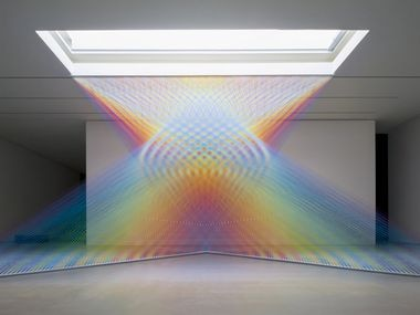 Work by artist Gabriel Dawe is part of the Pandemic Faire, a digital art exhibition created in response to the shutdown of physical art spaces after the coronavirus crisis in 2020.