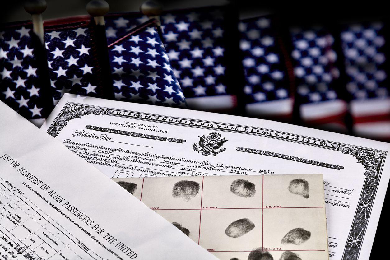 Certificado de ciudadanía.