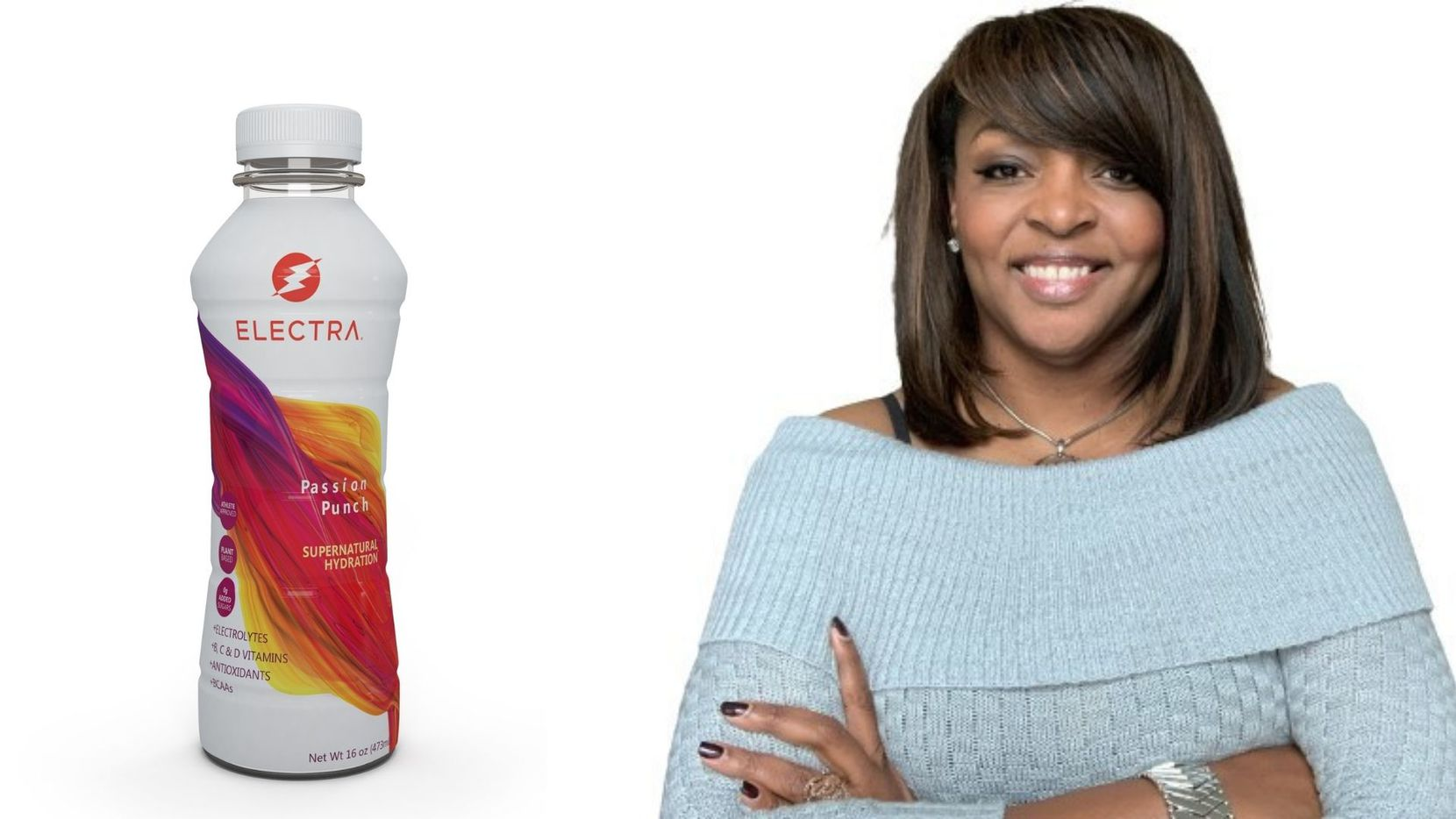 Fran Harris will pitch her sports drink line Electra on ABC's Shark Tank Friday.