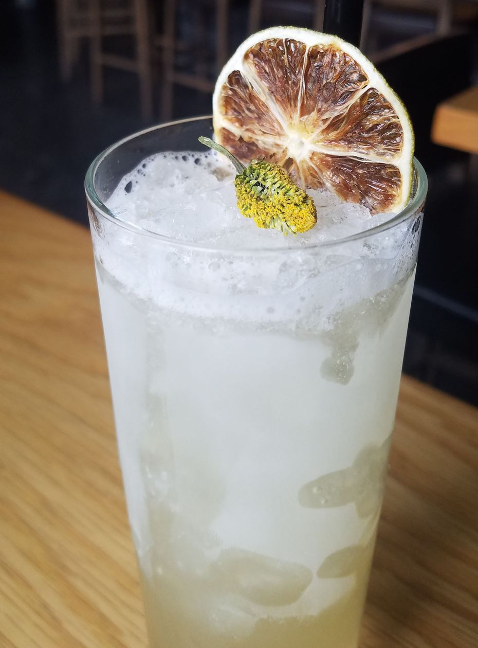 The Green Tara, a cocktail at Hide in Deep Ellum, will be on the new menu at the Greenville Avenue restaurant/bar.