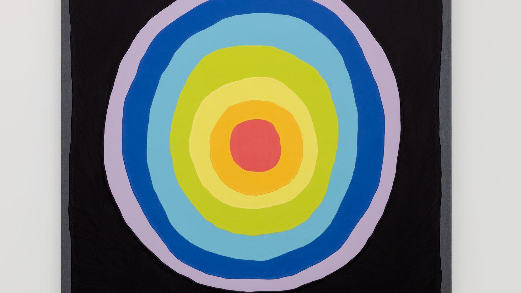 """Paul Winker's """"Portal"""" is a 2020 acrylic-on-canvas work."""