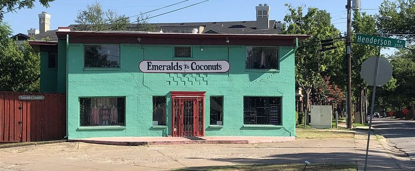 Women's apparel boutique Emeralds to Coconuts has been open for 40 years at 2730 N. Henderson Ave. in Dallas.