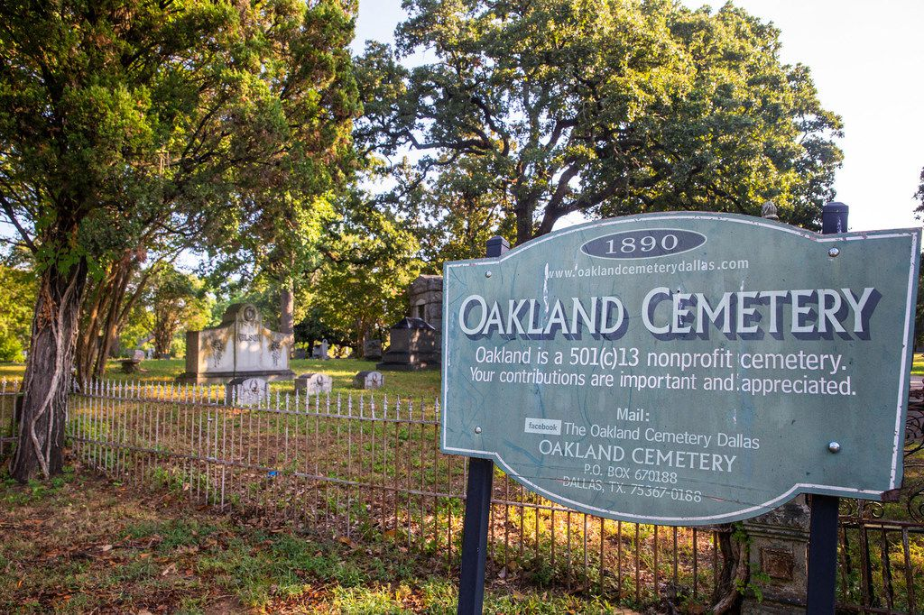 The cemetery was dedicated in December 1892, but it dates back even further, and sits on former countryside once owned by the Lagow family.