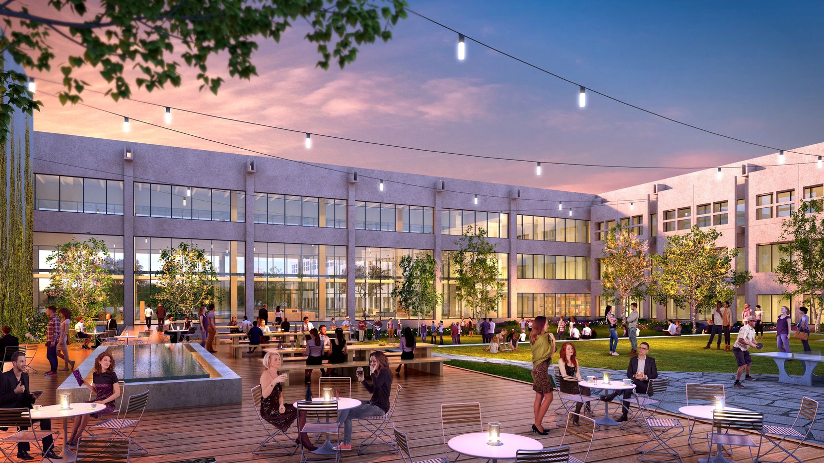The company has turned the former Zale headquarters in Las Colinas into a new office environment it calls VariSpace.