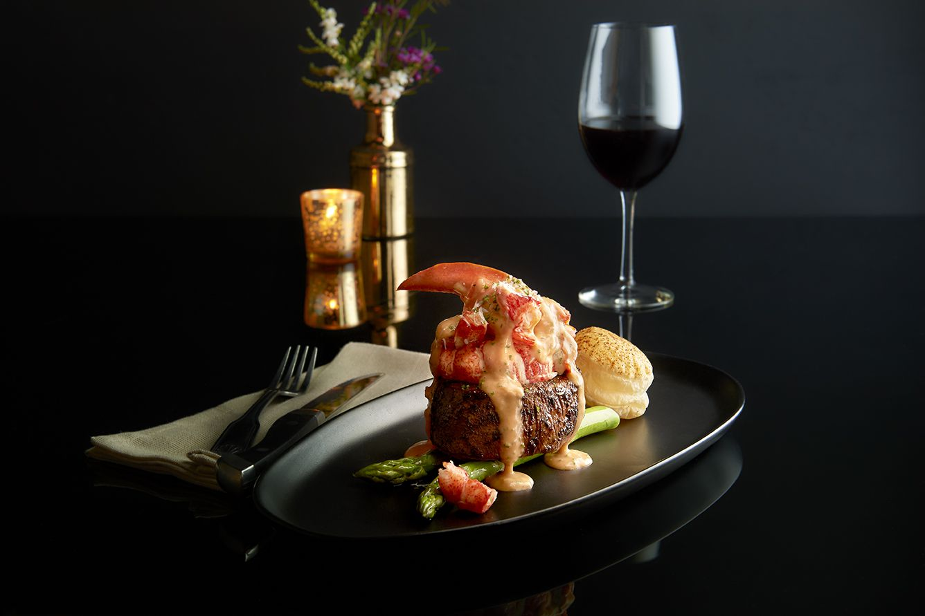 New Year's Eve dinner can still be bold, colorful and fun, even at home. Consider takeout from Morton's The Steakhouse in Dallas. They're selling a filet and lobster oscar for New Year's Eve 2020.