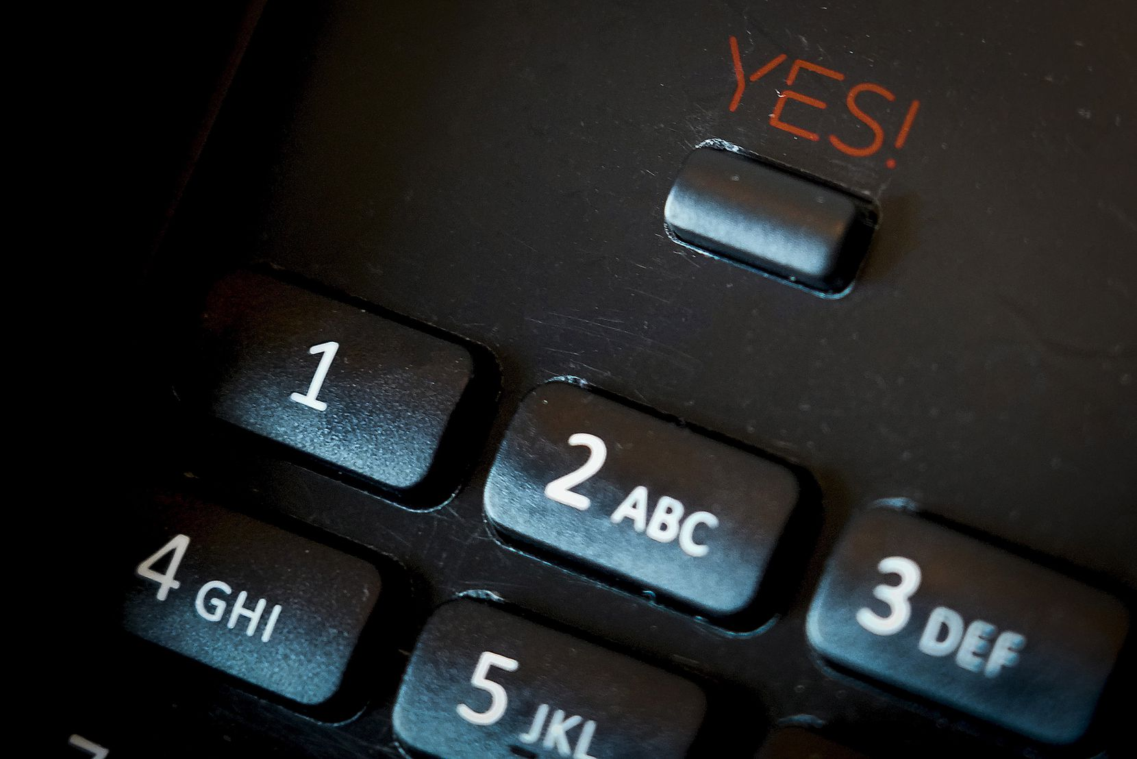 "Every phone has a ""YES!"" button. Instead of the expected ""0"" for the operator, Virgin Hotels have a ""YES!"" button to reach the operator. As in: ""The answer is always yes, now what is the question?"""