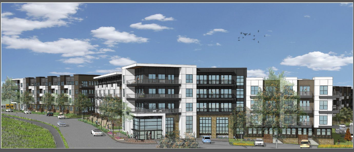 The 302-unit rental community will be on Meadow Road. (Provident Realty)