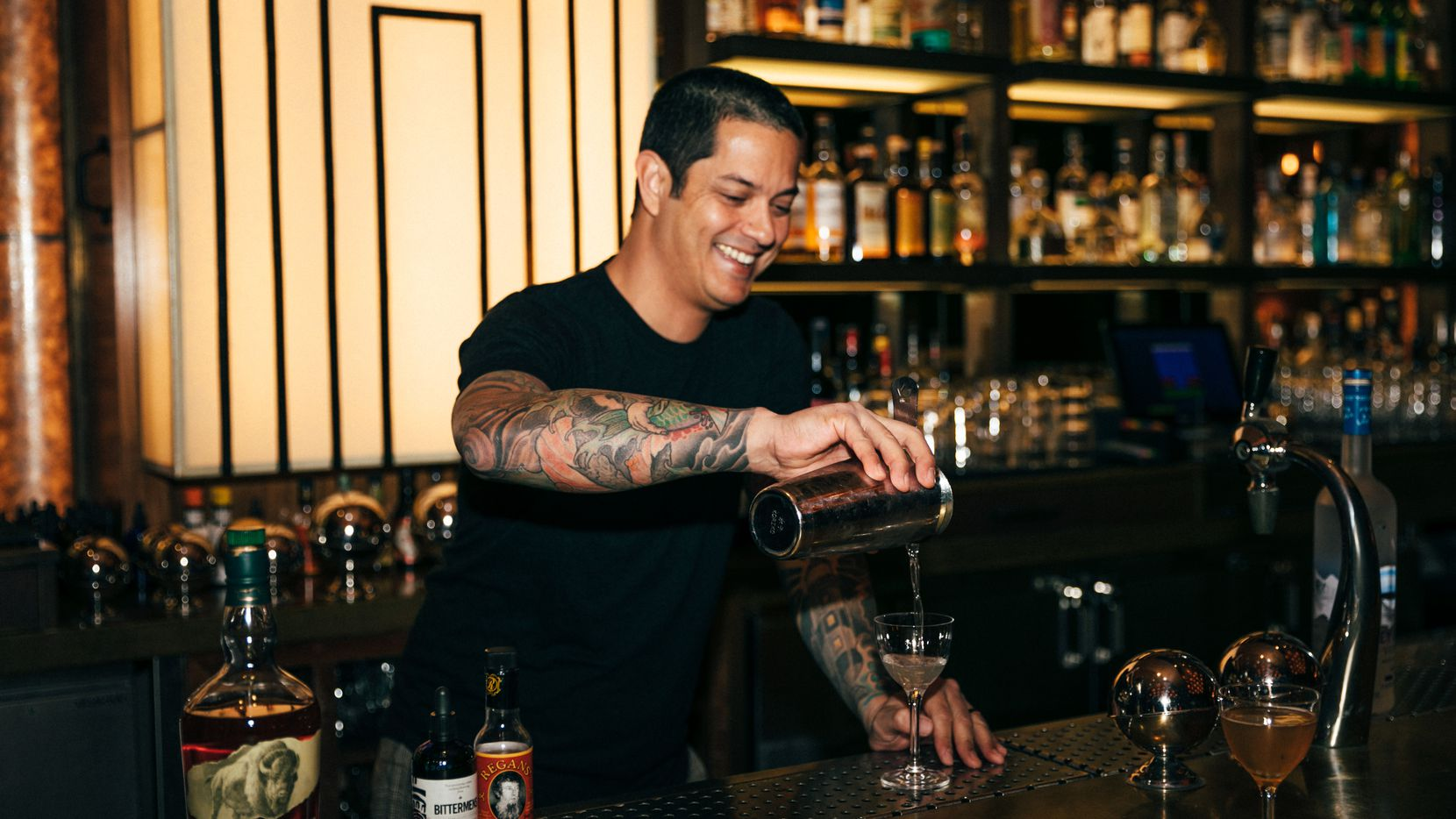 Gabe Sanchez, former owner of Black Swan Saloon, joins the staff at Midnight Rambler.